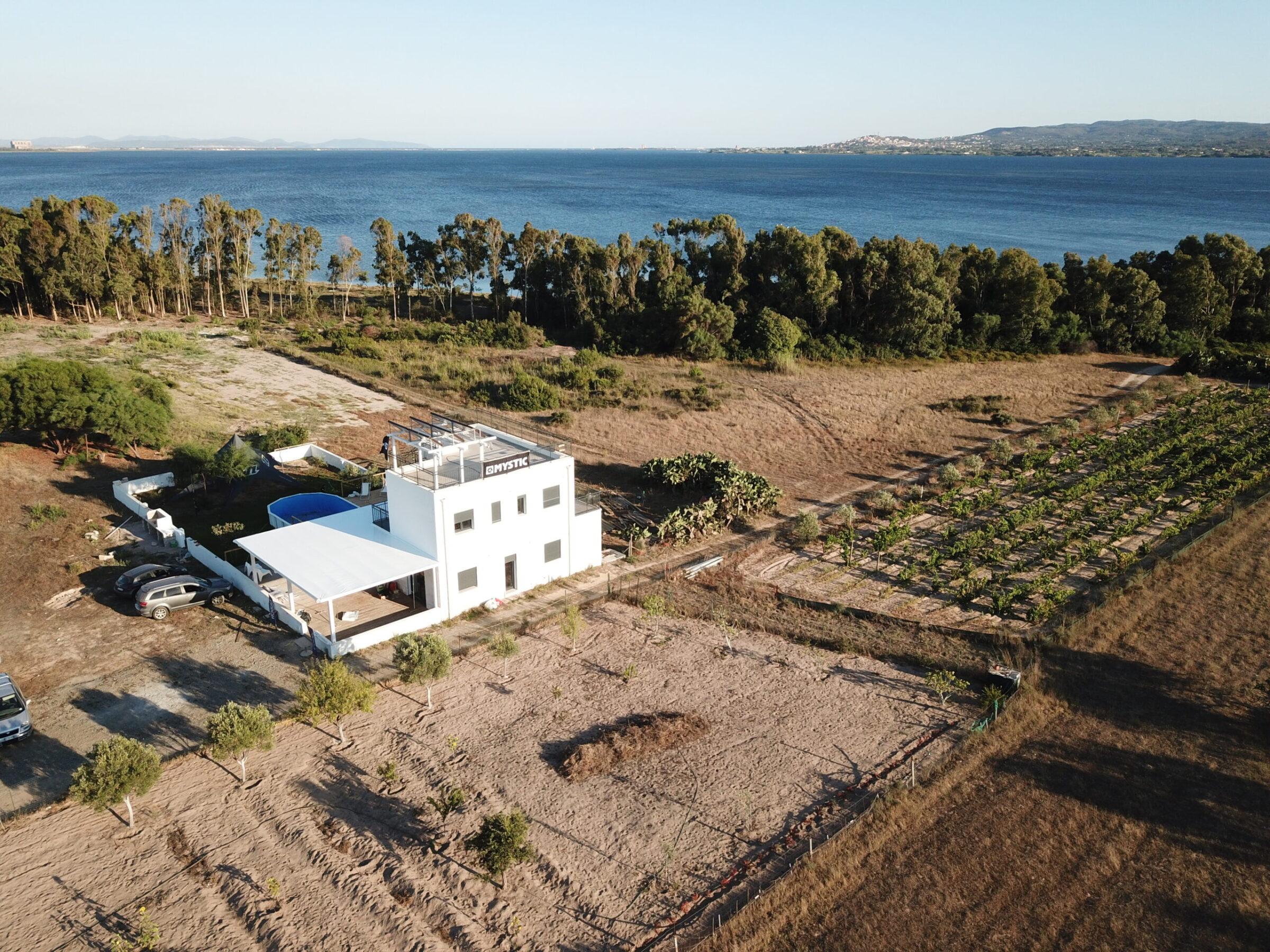 Punta Trettu Kite House auf Sardinien